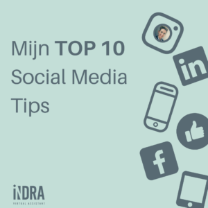 Mijn top 10 social media tips