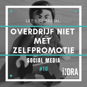 SOCIAL MEDIA #10 zelf promotie