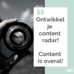 Content is overal