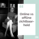 Online vs offline zichtbaarheid