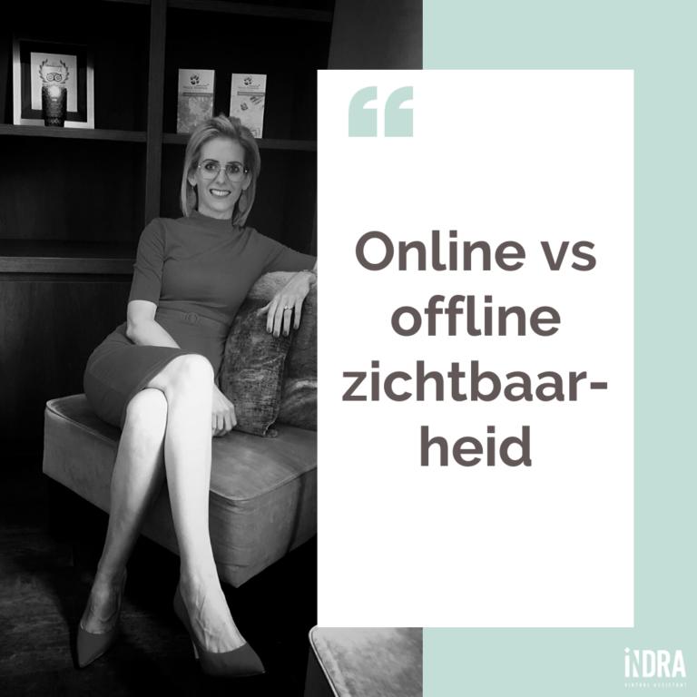 De kracht van de combi van online en offline zichtbaarheid